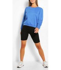basic sweater, blue