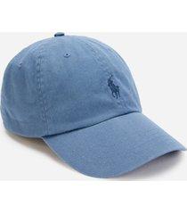 polo ralph lauren men's cotton chino sport cap - carson blue/navy