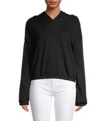 alala women's off duty hoodie - yellow - size s