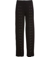 pantaloni con borchiette (nero) - bodyflirt boutique
