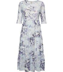 j s jurk knielengte blauw baum und pferdgarten