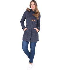 abrigo xuss 50654 azul