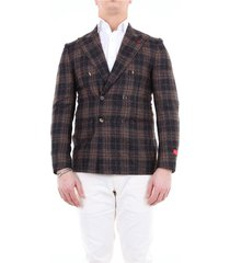 0072998580f double-breasted blazer