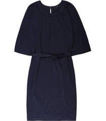 10 feet blauwe constructed jurk 780030