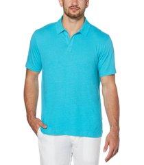 cubavera men's no-button polo shirt