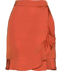 deena skirt kort kjol röd by malina