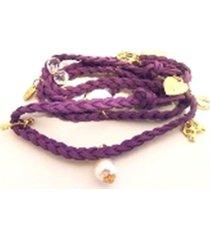 sale!!  braided wrap around hemp bracelet with charms-you pick color