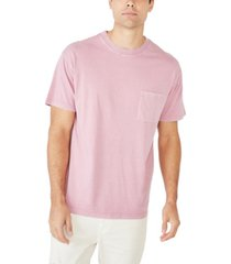cotton on men's loose fit washed pocket t-shirt