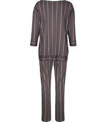 pyjamas simone antracitgrå::silverfärgad