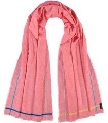 women's fun borders scarf
