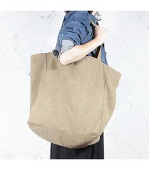 big lazy bag torba khaki / zieleń na zamek