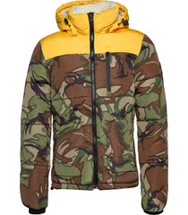 sd expedition coat gevoerd jack multi/patroon superdry