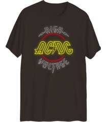 men's acdc graphic short sleeves t-shirt
