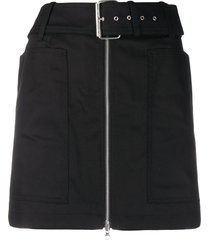 department 5 belted mini skirt - black