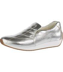 skor ara silverfärgad