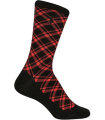 polo ralph lauren women's holiday plaid crew socks