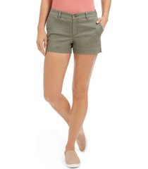 style & co chino shorts, created for macy's