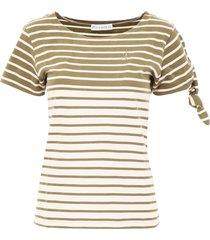 j.w. anderson striped t-shirt