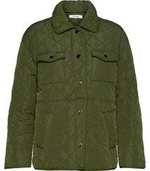 ruben jacket doorgestikte jas groen nué notes