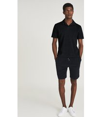 reiss brad - towelling shorts in navy, mens, size xxl