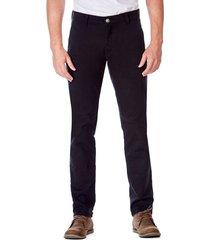 pantalon 5 bolsillos slim negro