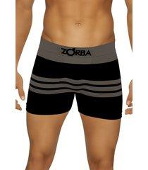 cueca boxer zorba striped demillus 91682 preto - preto - feminino - dafiti