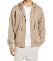 men's alo caliber men's front zip hoodie