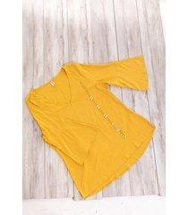 blusa-kolor latino-4831-mostaza