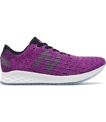 tenis running para mujer new balance zante - violeta