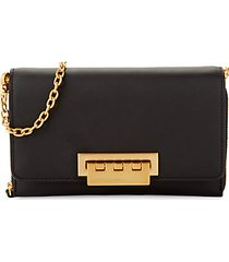 eartha leather chain wallet