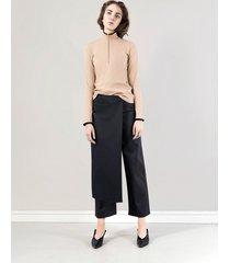 spodnie asymetryczne