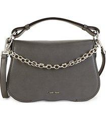 mini statement series western chain crossbody bag