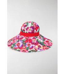 dolce & gabbana wide brim sun hat