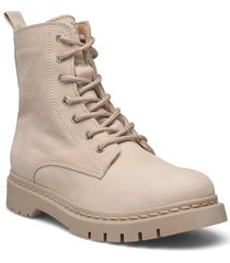 woms boots shoes boots ankle boots ankle boot - flat beige tamaris