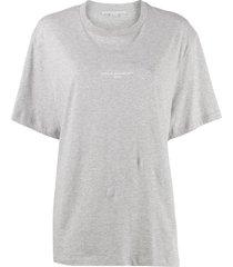 2001 stamped logo t-shirt grey