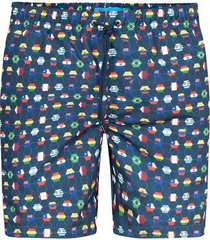 pantaloneta estampada para hombre 05214