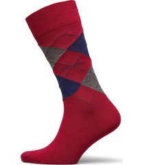john rs argyle wo underwear socks regular socks röd boss