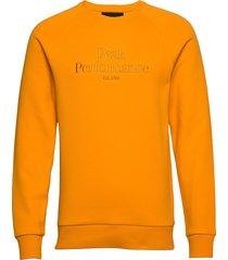 m original crew sweat-shirt trui oranje peak performance