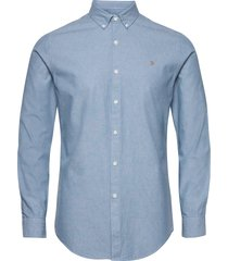 pasadena ls chambray skjorta casual blå farah