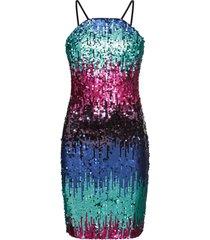 abito elegante con paillettes (blu) - bodyflirt boutique