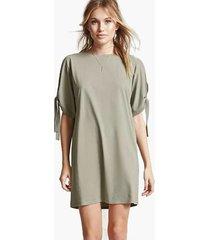 vestidos ajustados de manga corta para mujer camiseta sin vestido mujer