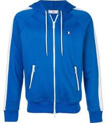 zip up hoodie royal blue