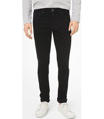 mk jeans skinny in cotone stretch - nero (nero) - michael kors