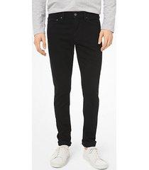 mk jeans skinny in cotone stretch - nero (nero) - michael kors