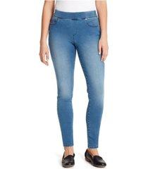 gloria vanderbilt women's avery pull on slim jeans pant