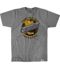 camiseta caterpillar hombre gris 2511590-mep