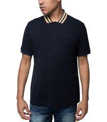 sean john men's yarn dyed polo shirt