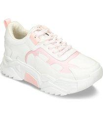 zapatos casuales blanco rosado bata isole mujer