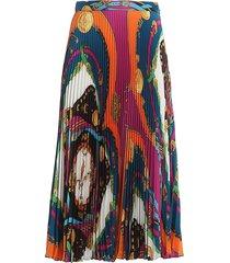 versace skirt printed