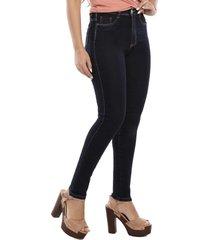 calça jeans sawary legging super lipo azul escuro